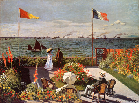 Terrace at Sainte Adresse
