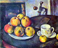 Still Life with Apples  Cup