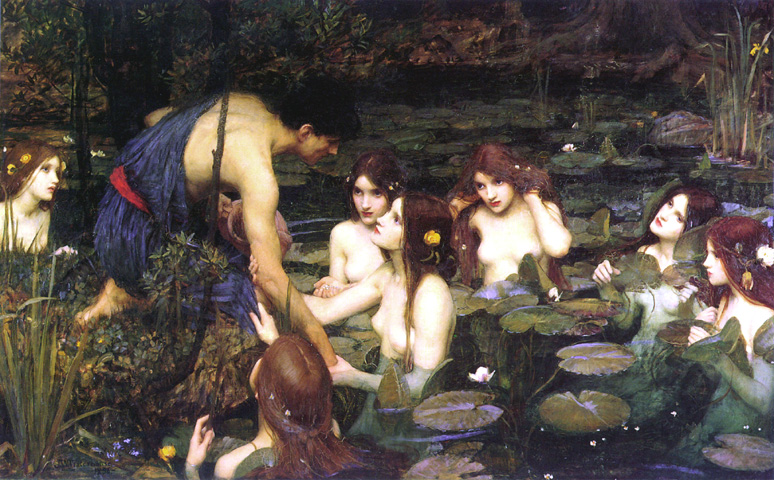 Hylas and the Nimphs