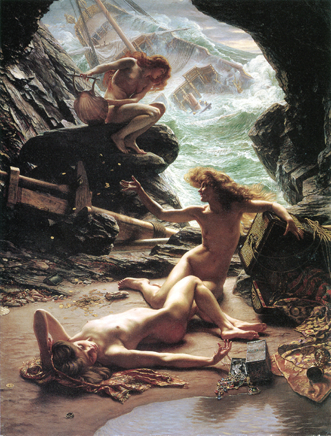 The Cave of Storm Nymphs