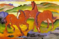The Large Red Horses