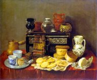 Sweets, Vessels, and an Ebony Chest